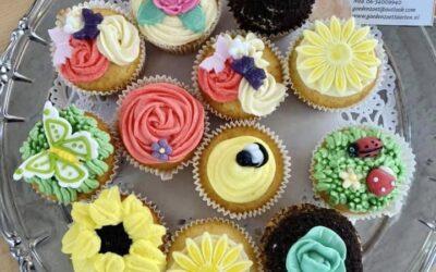 Boerentuin cupcakes